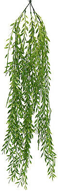 """Willow 37"""" Hanging Bush Greenery Silk Flowers Centerpieces Home Decorations New"""