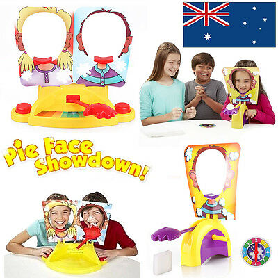 Kids Pie Face Showdown Game Exciting Fun Party Family Multi Player Gift Toy NEW