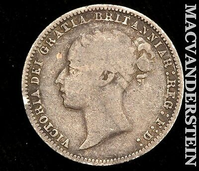 1878 Six Pence- Scarce !! Better Date !! #r3106