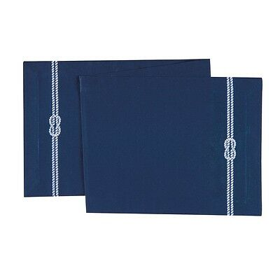 """14x51"""" Canvas  Reversible Table Runner, Nautical Rope"""