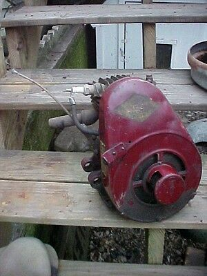 Antique Briggs and Stratton model Y stationary engine,KICK START, OLD MOTOR