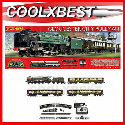 Large New Hornby Gloucester City Pullman Train Set Oo Gauge Dcc Ready R1177