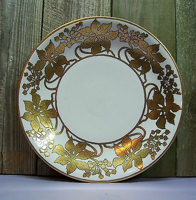 Antique 1900s Limoges France Porcelain Hand Painted Charger