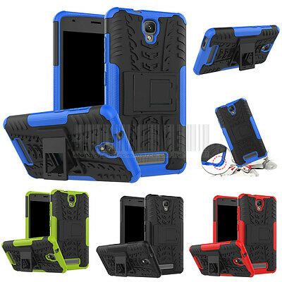 Hybrid Stand Case Shockproof Cover For ZTE Blade L5 / Telstra Slim Plus