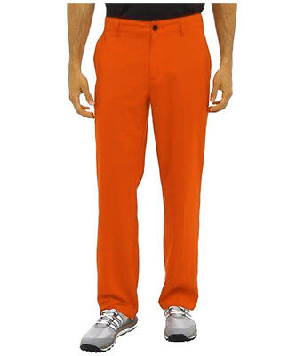 adidas ClimaLite Cargo Mens Golfing Pants - Orange