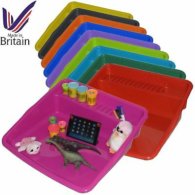 Kids Large Plastic Colour Mixing Play Tray Toy Sand Pool Pit Water Game UK