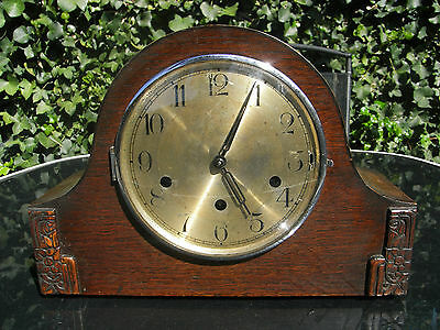 Edwardian Mantle Clock with Westminster Chimes