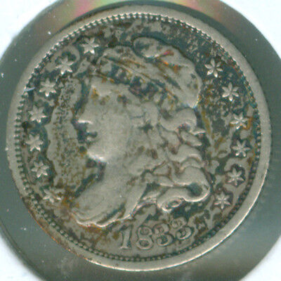 1833 Capped Bust Silver Half Dime (1721697)
