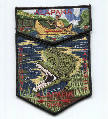 2005 National Scout Jamboree Alapaha Lodge 545 2-Part Set   Inventory Control #
