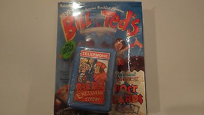 BILL & TED EXCELLENT CEREAL FULL UNOPENED 12.5 oz BOX W TELEPHONE CASE RALSTON