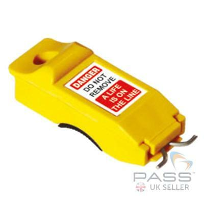 Lockout Tagout Slider Miniature Circuit Breaker (MCB) Lockout - Pin Out