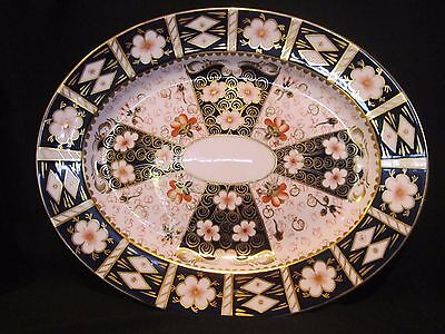 Royal Crown Derby TRADITIONAL IMARI 2451- Oval Platter