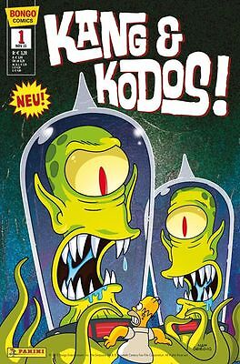 SIMPSONS COMICS PRÄSENTIERT: KANG & KODOS (deutsch) # 1 - PANINI 2015 - TOP