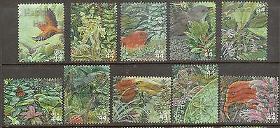 Scott #4474 a-j Set of 10, Hawaiian Rain Forest (Off Paper)