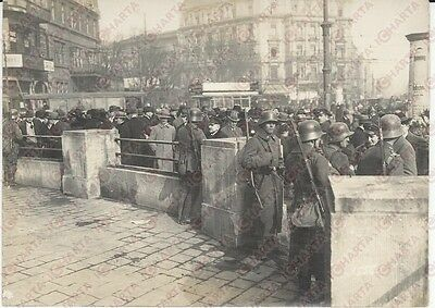 1920 KAPP PUTSCH REVOLUTION  Berlin Potsdamer Platz  **REAL PHOTO cm 16x12