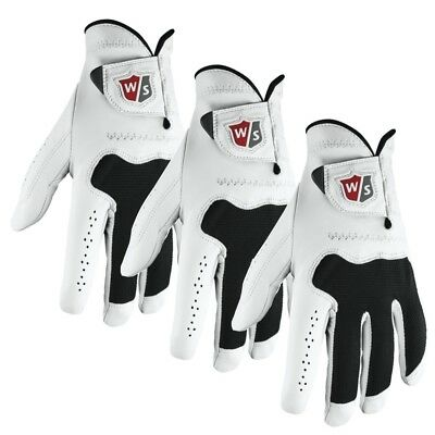 3 NEW Wilson Staff Conform Left Hand Golf Gloves - You Pick Size / Fit!!