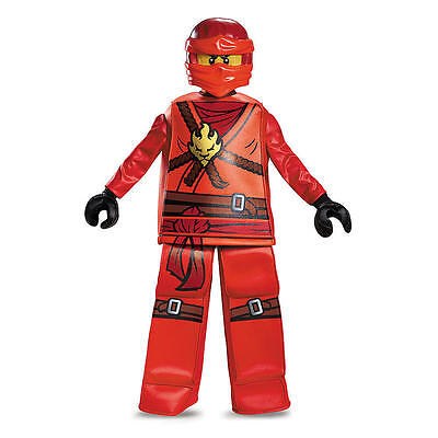 LEGO Ninjago Kai Prestige Halloween Costume - Child Size 10/12