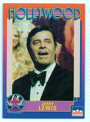 #5 Jerry Lewis - Hollywood Walk of Fame Card