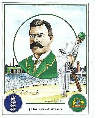 #5 J Darling - Australia Captain Cricket Card