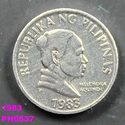 PHILIPPINES 5 Sentimos 1983 uncirculated coin