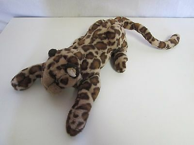 Small Leopard Puppet Plush Stuffed Toy By Folktails Folkmanis Retired & Rare
