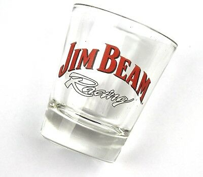 Jim Beam Racing USA Glas Stamper Stamperl Schnapsglas shot glass