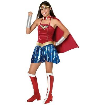 Wonder Woman Costume Teen Halloween Fancy Dress