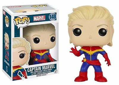 Funko Pop! Marvel Unmasked Captain Marvel Vinyl Action Figure
