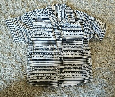 super cool boys shirt, new without tags, 12-18 months