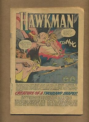 Brave and the Bold 34 (Coverless) Origin/1st S.A. Hawkman and Hawkgirl (c#13733)