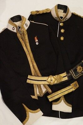 Pre WW1 British Supply and Transport Corps Named Full Dress Mess Dress Crossbelt