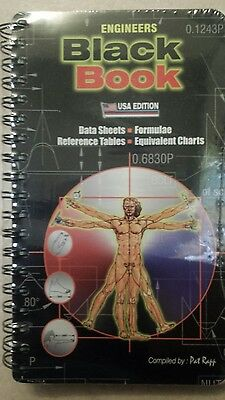 Engineers Black Book Usa Edition Data Sheets Reference Table Equivalent Charts