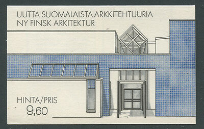 Finland 1985 9.60M Construction Year booklet Sc# 737a NH