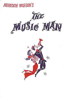 The Music Man Broadway Musical Vocal Score Piano Sheet Music 18 Songs Book NEW