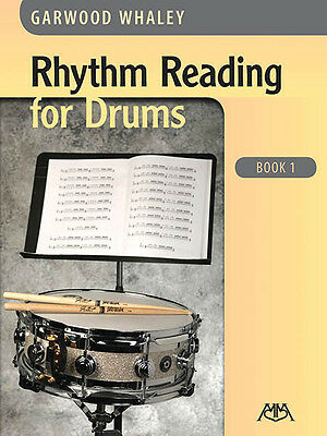 Rhythm Reading for Drums Book 1 Beginner Lessons Learn to Play Percussion NEW