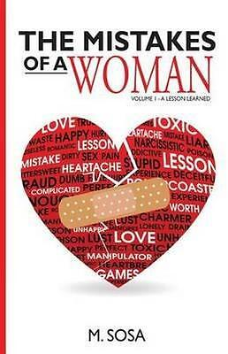 NEW The Mistakes of a Woman By M. Sosa Paperback Free Shipping