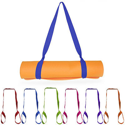Adjustable Yoga Mat Sling Carrier Shoulder Carry Strap Belt Stretch Exercise hot