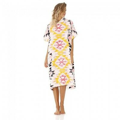 Women's Billabong Surf Vibes Poncho - Hooded Beach / Pool Towel. NWT, RRP $69.99
