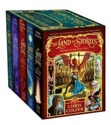 NEW The Land of Stories Hardcover Gift Set By Chris Colfer Hardcover