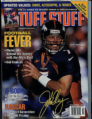 Tuff Stuff Magazine October 1998 John Elway Guide H28