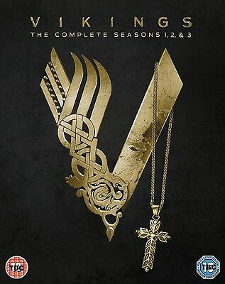 Vikings Complete Season 1 2 3 Dvd Region 4 New And Sealed! 1-3