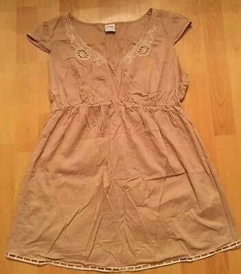 Mothercare MODA Beige Long Top size 14 Maternity