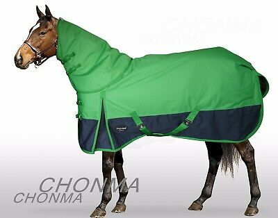 CHONMA   1680D 250G Fill Winter Waterproof BreathableTurnout Horse Rug Combo-A38