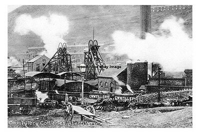 pt0345 - Cwmtillery Colliery , Abertillery , Monmouthshire , Wales - photo 6x4