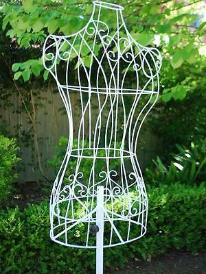 Female Wire Mannequin Clothes Dummy Dress Form Adjustable Fashion Shop N Home WH