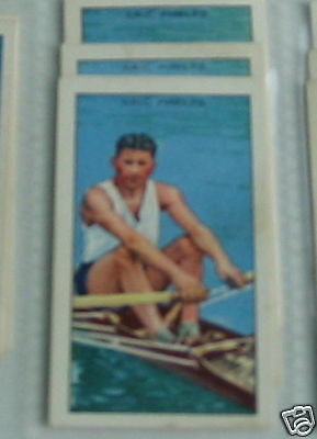 #8 eric phelps sculling  - Sport cigarette card