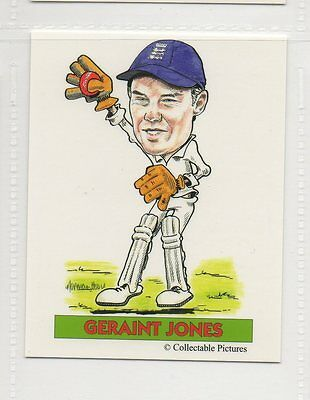 #8 Geraint Jones  Cricket Collector Card