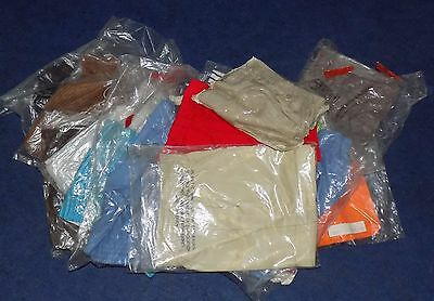 12 x VINTAGE 1970's UNWORN BOYS & GIRLS SHORTS ASSORTED STYLES, SIZES & COLOURS