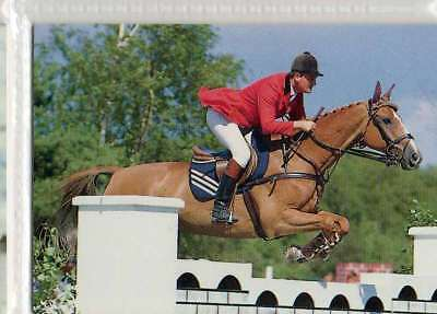 #86 Robert smith GBR Jumping equestrian collector card