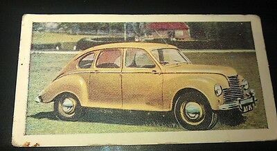 1954  JOWETT JAVELIN  Orig Cadet Cigarette Card UK